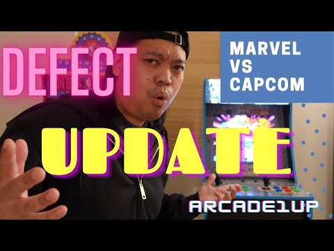 New Arcade1up Marvel vs Capcom Defective: The Update from HappyFunnyGaming
