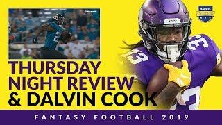 Evaluating Fantasy Football RBs Via YPC Is Terrible…Plus Dalvin Cook Is Fun!