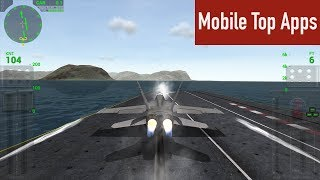 How to flight F18 with Carrier Landing Lite? | Mobile Top Apps Review