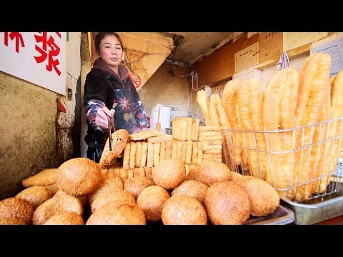 Shanghai's BEST Street Food tour | AUTHENTIC Chinese Street Food w/ Lost Plate - Shanghai, China