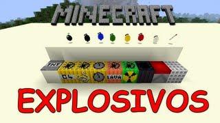 Minecraft - Mod de Explosão!!!!