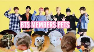 Gambar cover BTS MEMBERS PETS