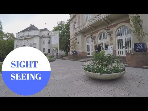 Sightseeing In Baden-Baden In GERMANY