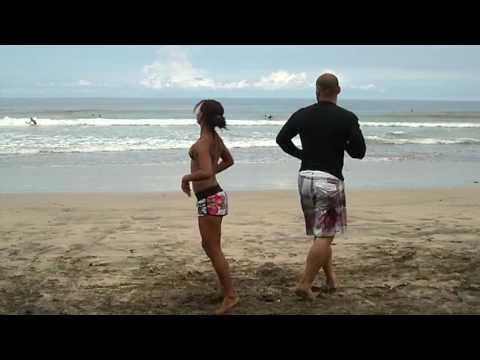 Dancing Cumbia Steven Araya Costa Rica
