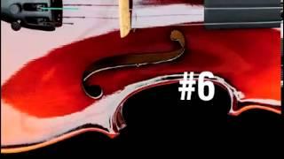 Aprender las melodías de música clásica en el violín