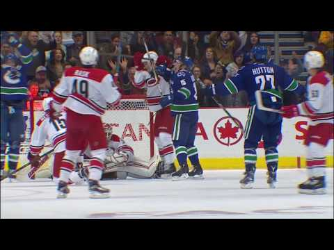 Never Give Up Attitude Shows In Canucks Rally