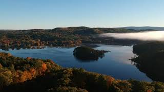Turners Falls Drone Office Panorama October 2019