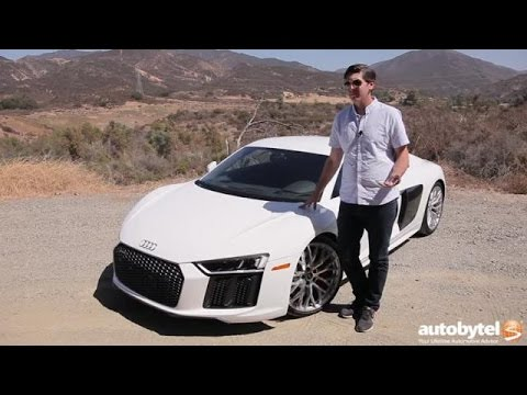 2017 Audi R8 Test Drive Video Review