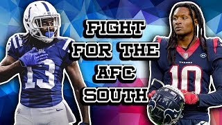 Winner Take All: Will the Colts or Texans Cement Themselves Atop the AFC South? Week 7 NFL Matchup
