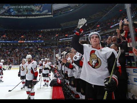 Game 3-SHOOTOUTS-Ottawa Senators vs Vancouver Canucks 2017-18