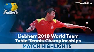 2018 World Team Championships Highlights | Xu Xin vs Patrick Franziska (Final)