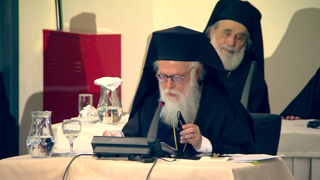 Αποτέλεσμα εικόνας για Holy and Great Council - His Beatitude Archbishop Anastasios of Albania