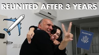 Meeting My Family After 3 Years. Surprise