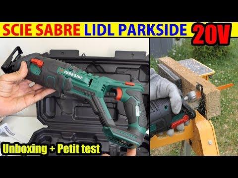 Scie Sabre 20v Lidl Parkside X20v Team Cordless Sabre Saw