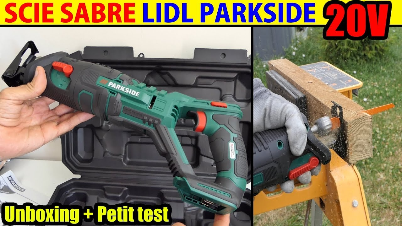 scie sabre 20v lidl parkside x20v team cordless sabre saw. Black Bedroom Furniture Sets. Home Design Ideas