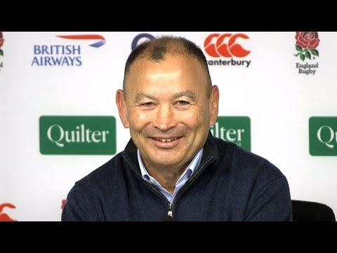 England v Japan - Eddie Jones & George Ford Post Match Press Conference