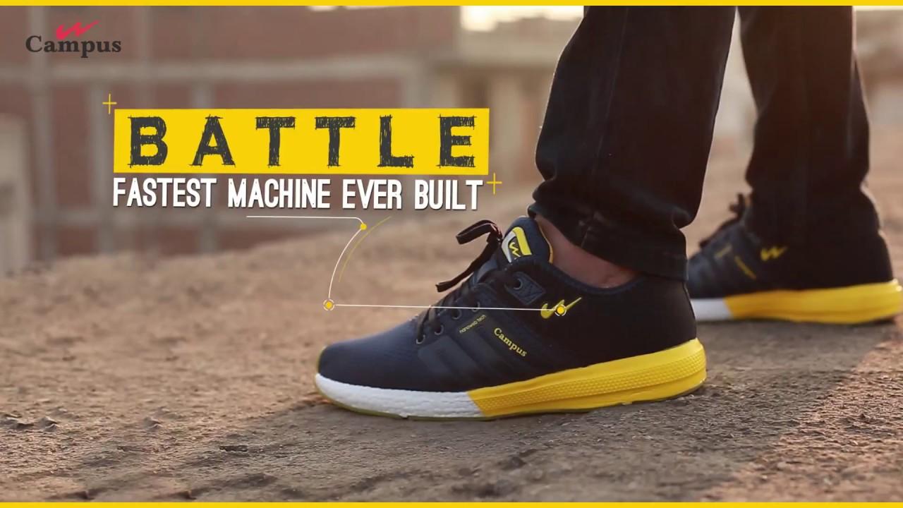 Campus Battle Shoes - YouTube