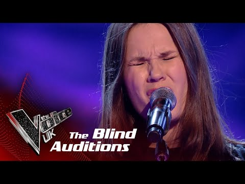 Chloe Performs 'Just Like A Star': Blind Auditions | The Voice UK 2018