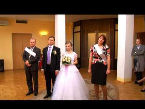 Наша свадьба. Загс, кольца и голуби :) 10.09.2011 г.