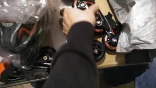 ОНЛАЙН ТРЕЙД.РУ Коньки-ролики раздвижные KHL Combo (2в1), размер рус S / 30-33 1559110