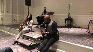 "Shola Iyiola & Chris Mitchell Perform ""If I Ain't Got You"""