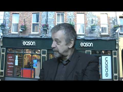 Michael Harding, Writer and Journalist talks to Aine Duffy on Cavantv.com