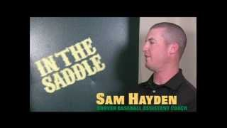 In the Saddle — Assistant Coach Sam Hayden
