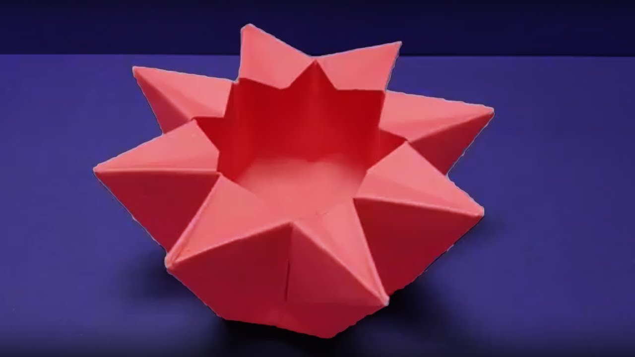 Origami bowl how to make origami chrysanthemum bowl easy origami bowl how to make origami chrysanthemum bowl easy origami paper craft tutorials floridaeventfo Images