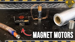 4 Simple Magnet Motors You Can Make at Home
