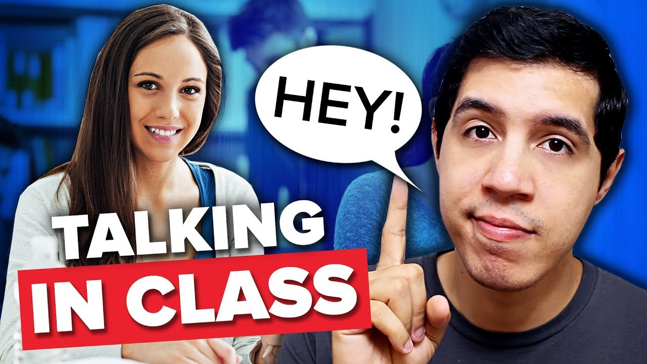How To Talk To Your Crush In Class at School - YouTube
