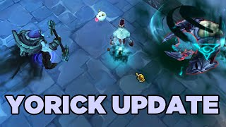 LoL Yorick Update & Ability Rework Spotlight
