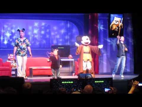 Star Wars Weekends 2013 - Warwick Davis, Tim Rose & Jedi Mickey Sing-A-Long