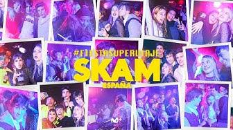 Así fue la #FiestaSuperViaje de SKAM España | Movistar+