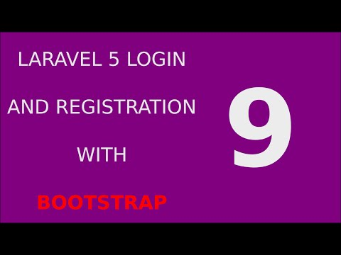 Laravel 5 Login Registration Tutorial System - 9 Validate User Registration