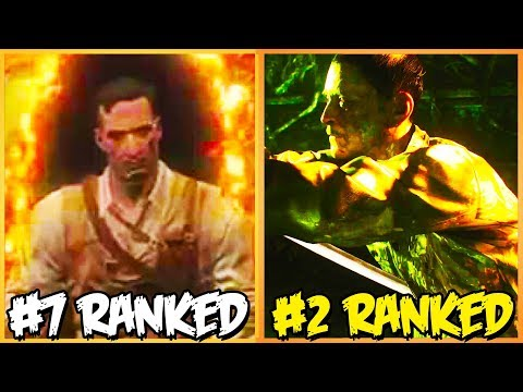 RANKING EVERY CUTSCENE IN BO3 ZOMBIES FROM WORST TO BEST