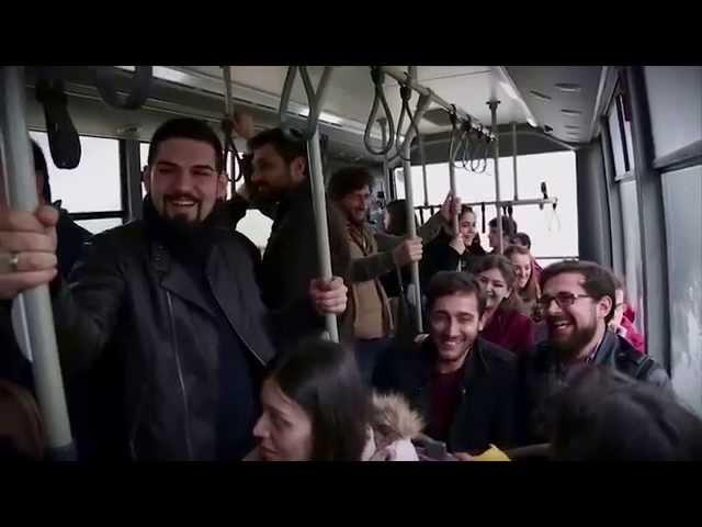 Otobüste Kentkart Basma Makinesi Konu?ursa!