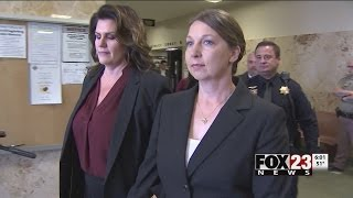 VIDEO: Officer Betty Shelby to stand trial following Terence Crutcher's death