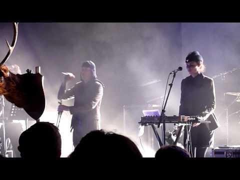 Laibach 'Ti, Ki Izzivas' HD @ London, Tate Modern Turbine Hall, 14.04.2012