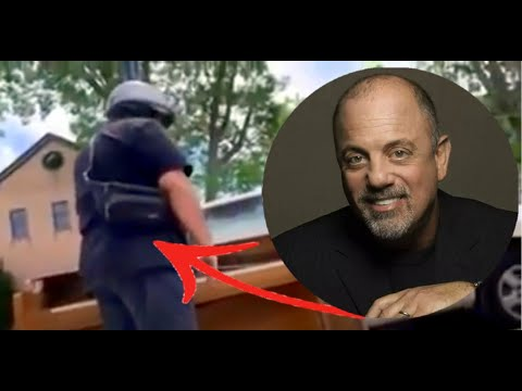 Billy Joel Stops His Motorcycle To Play A Discarded Piano In Huntington