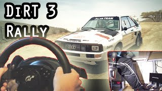 Rally Fun - Dirt 3 With Thrustmaster T500rs Steering Wheel Gameplay. Hd 1080p 2014