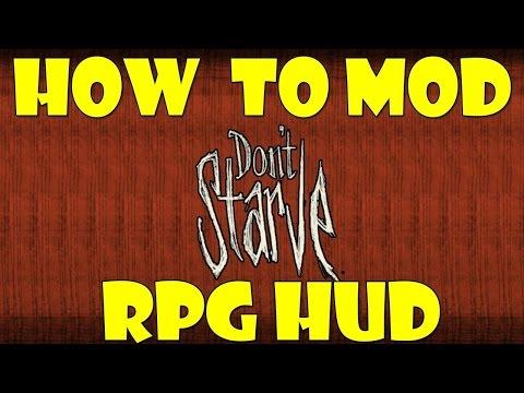 How To Mod Don't Starve - RPG HUD MOD