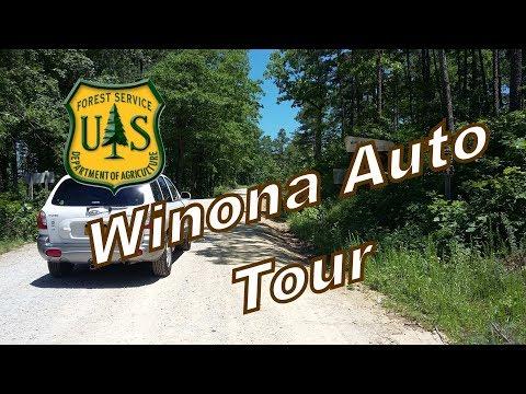 Ouachita National Forest Winona Auto Tour May 2017