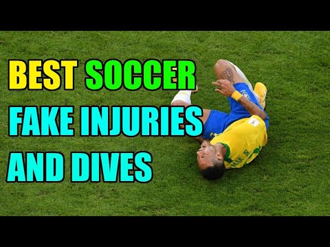 Best Soccer Fake Injuries and Dives