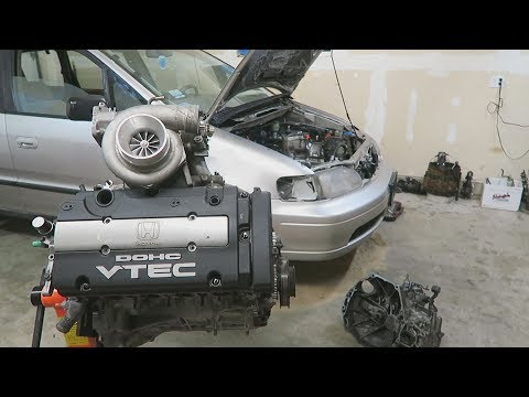 Putting the Engine together for the Turbo Minivan Build!