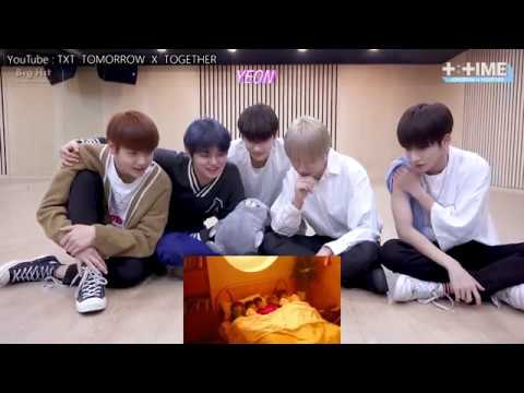[ENG SUB]  TXT  [T TIME] 'Cat & Dog' MV Reaction