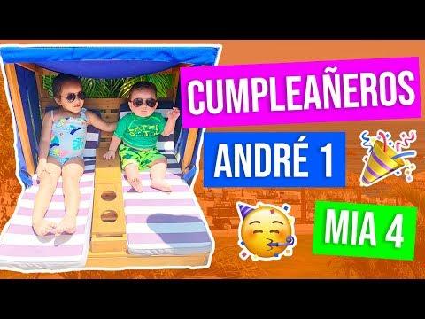ANDRÉ CUMPLE 1 AÑO Y MÍA 4  KARLA CELIS VLOG