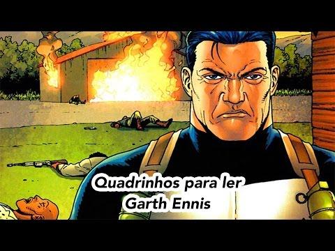 Quadrinhos para ler Garth Ennis