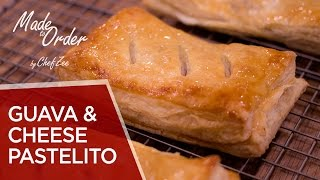 Guava &amp Cheese Pastelitos  Cuban Recipes  Made To Order  Chef Zee Cooks