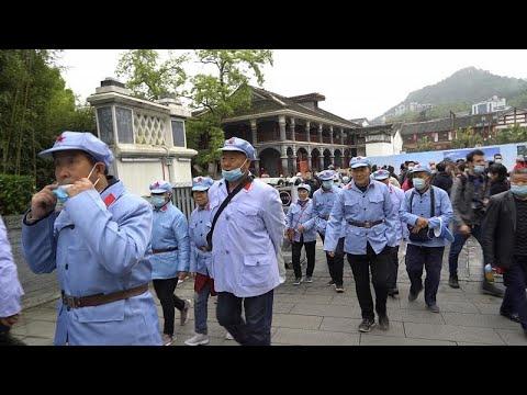 شاهد: في الذكرى المئوية لتأسيس الحزب الشيوعي.. -السياحة الحمراء- تزدهر في الصين…  - 23:58-2021 / 4 / 28