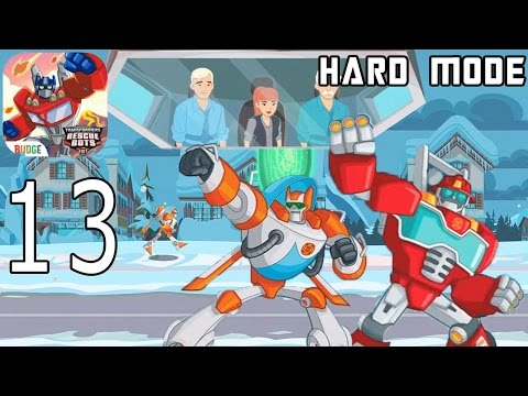 Transformers Rescue Bots: Disaster Dash Hero Run - IPhone Gameplay Walkthrough Part 13